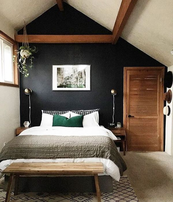 Alluring Bedroom Designs Dark Wall Best 20 Wood Accents Ideas On Pinterest