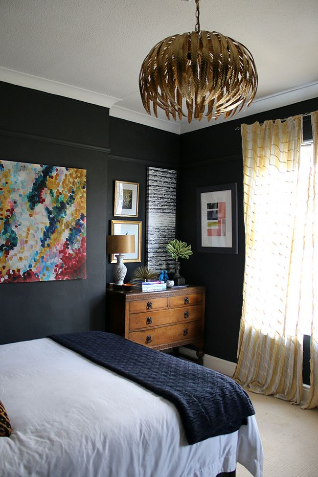 Alluring Bedroom Designs Dark Wall Best 25 Black Bedrooms Ideas On Pinterest