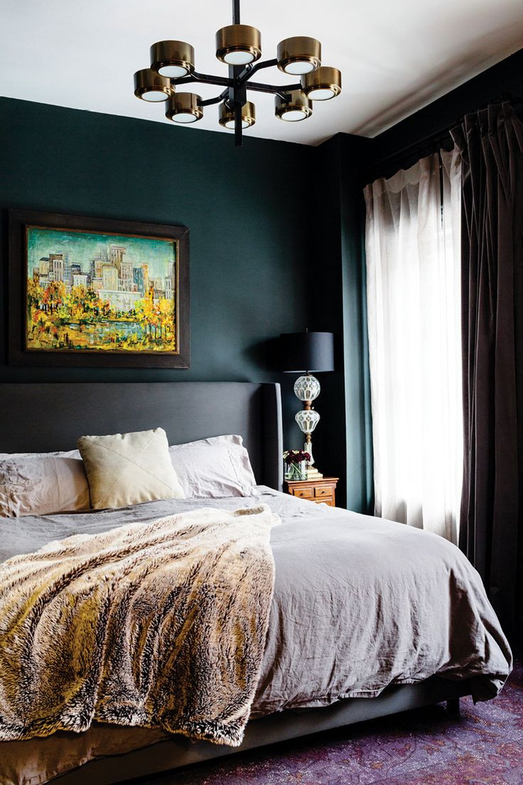 Alluring Bedroom Designs Dark Wall Best 25 Green Bedrooms Ideas On Pinterest