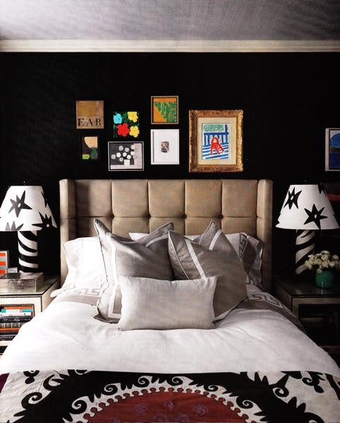 Alluring Bedroom Designs Dark Wall Elegant Black Wall Bedroom Designs