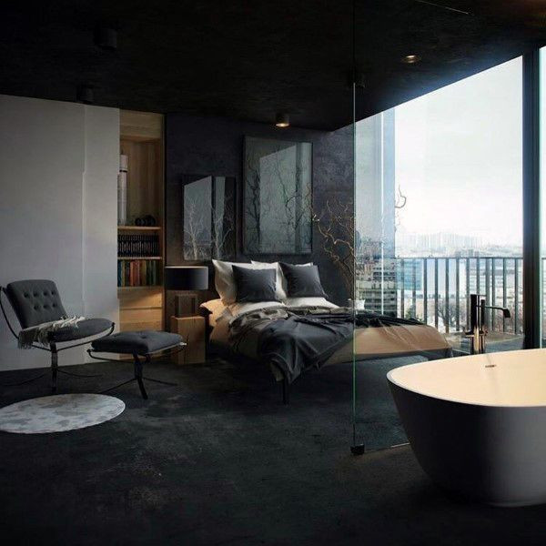 Alluring Bedroom Designs Dark Wall top 50 Best Black Bedroom Design Ideas Dark Interior Walls