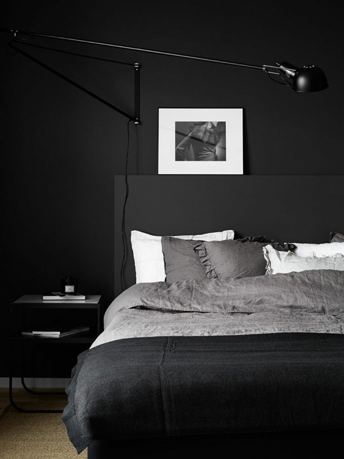 Alluring Bedroom Designs Dark Wall Walls Design Good Arguments for the Dark Wall Decoration