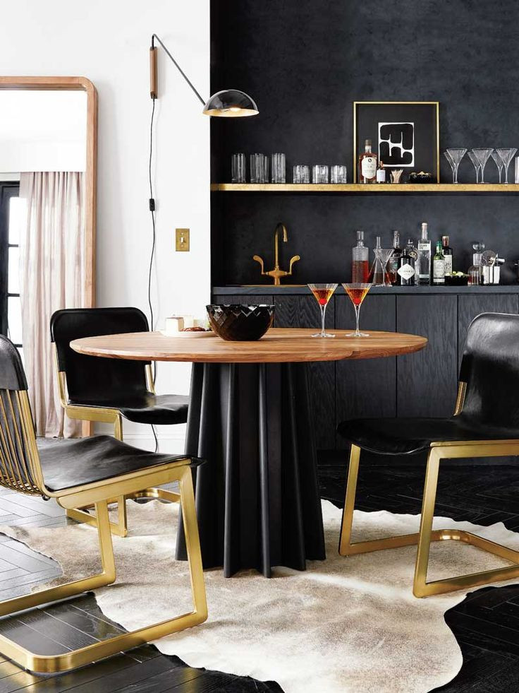 Black and Gold Dining Room Ideas 17 Best Ideas About Gold Dining Rooms On Pinterest
