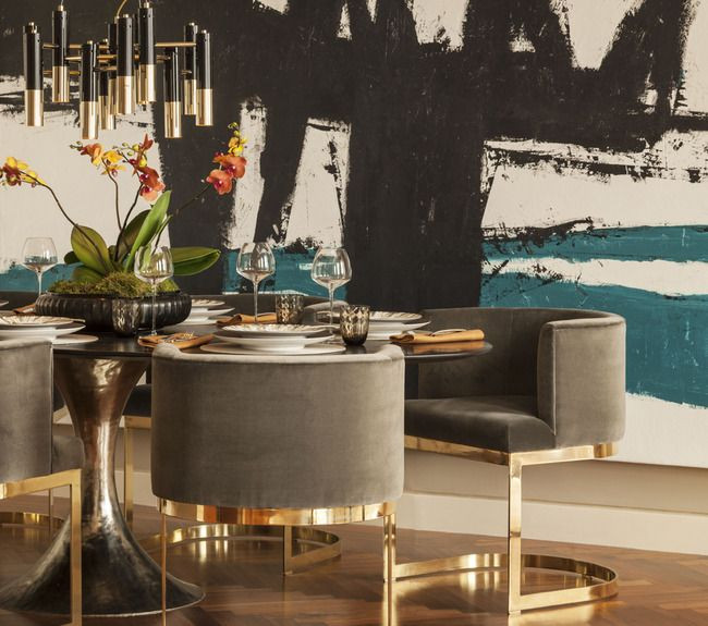 Black and Gold Dining Room Ideas 25 Best Ideas About Gold Dining Rooms On Pinterest