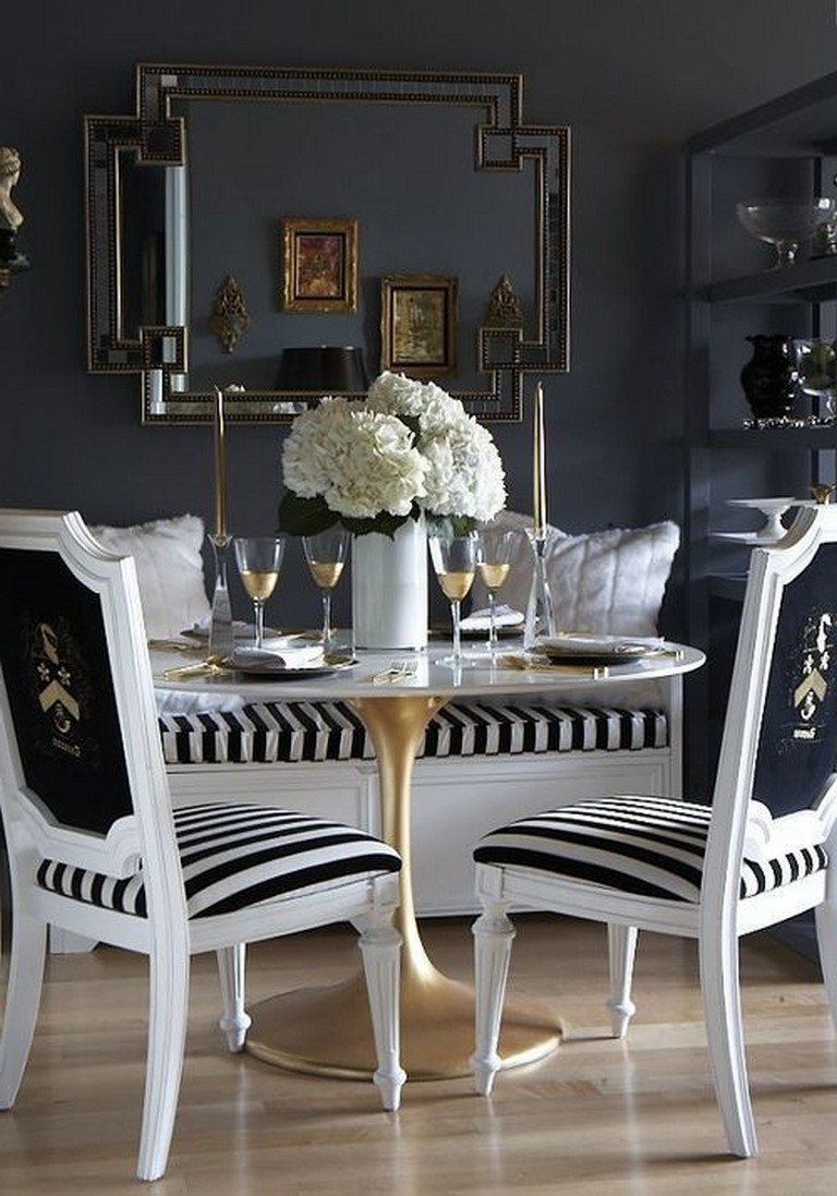 Black and Gold Dining Room Ideas 37 Elegant Black and Gold Dining Room Ideas for Inspiration