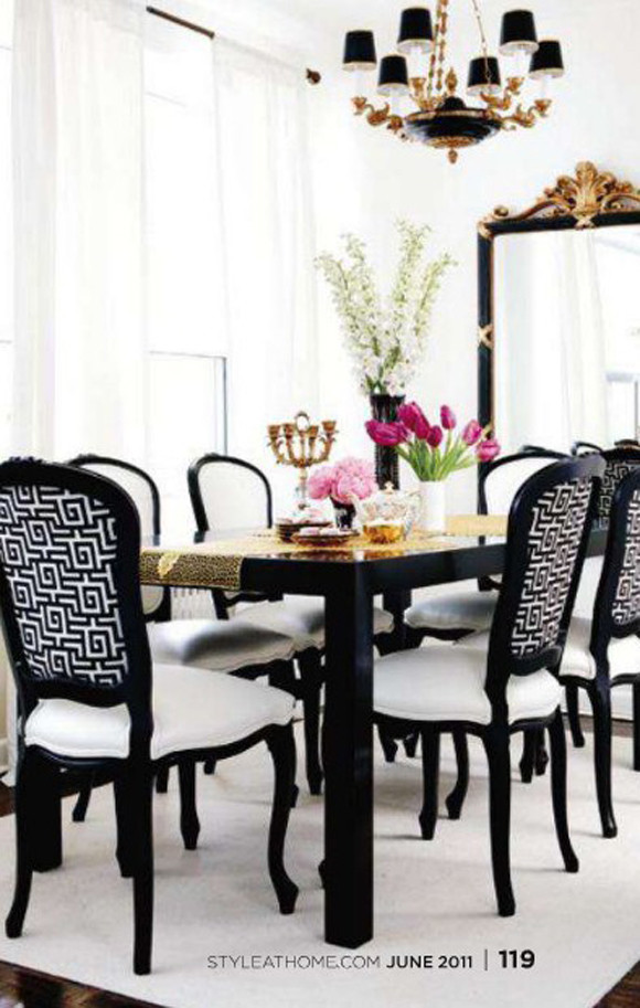Black and Gold Dining Room Ideas Dining Room Design Black and White with Gold Accents
