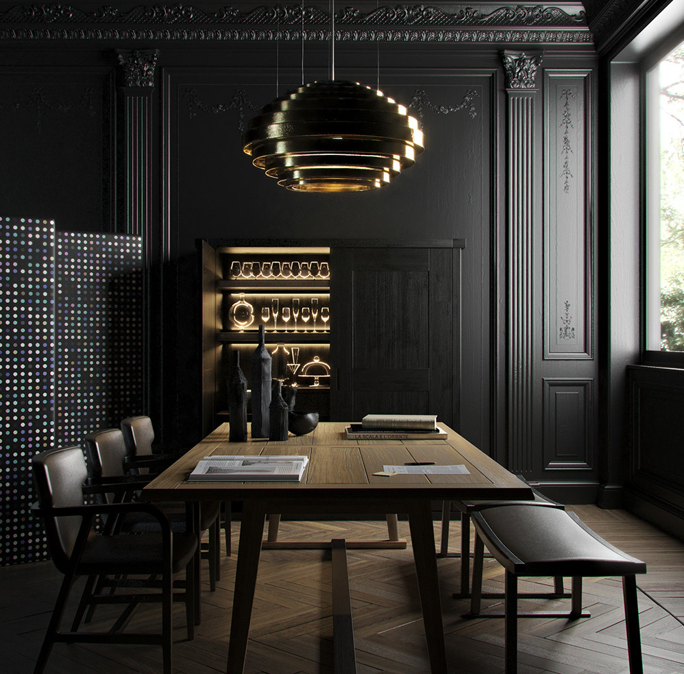 Black and Gold Dining Room Ideas Get some Interior Inspiration From Instagram S 7 Most