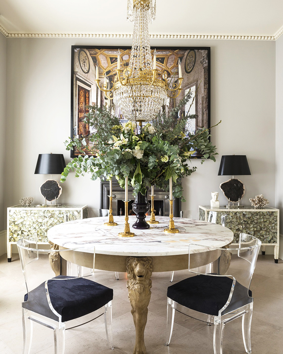 Black and Gold Dining Room Ideas Impeccable Style Get the Designer Look In Your Home with