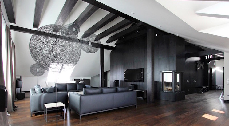 Black Living Room Designs 20 Inspiring Black and White Living Room Designs