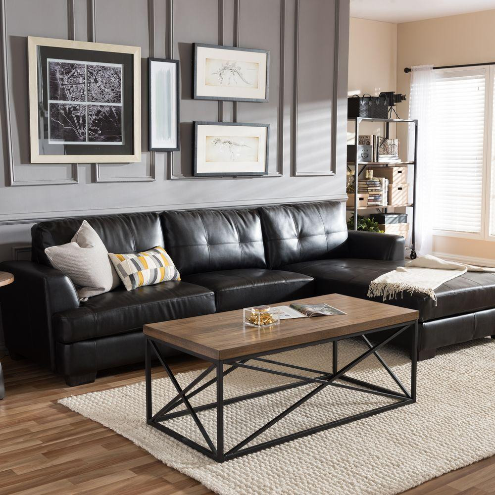 Black Living Room Designs 5 Black Leather sofas We Found What Your Living Room