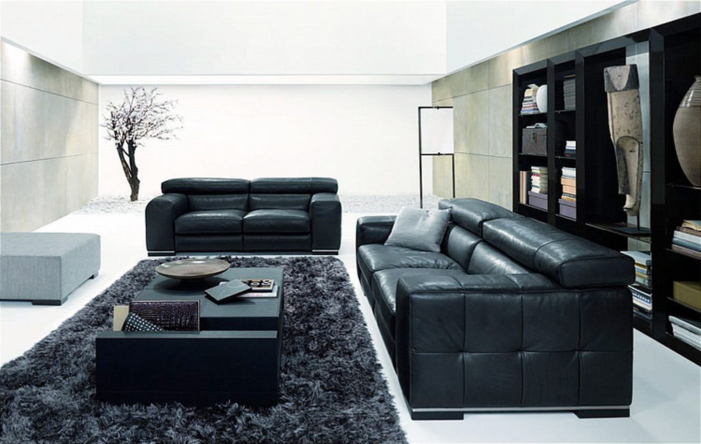 Black Living Room Designs Amazing New Nicolas Living Room Design with Black sofa