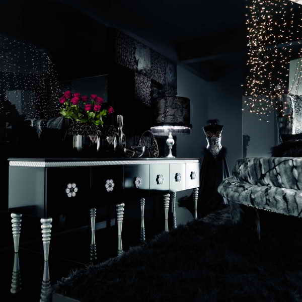 Black Living Room Designs Black Wallpaper