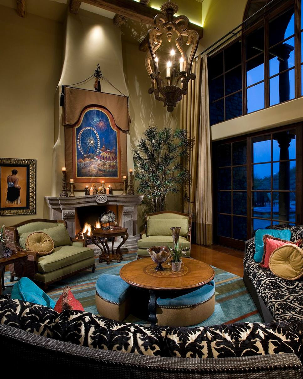 Blue Living Room Ideas 20 Blue and Brown Living Room Designs Decorating Ideas