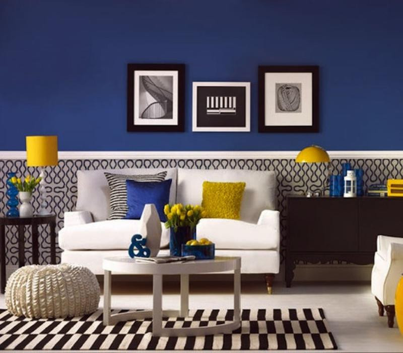 Blue Living Room Ideas 20 Charming Blue and Yellow Living Room Design Ideas Rilane