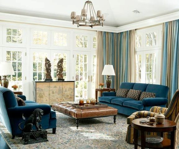 Blue Living Room Ideas 33 Cool Brown and Blue Living Room Designs Digsdigs
