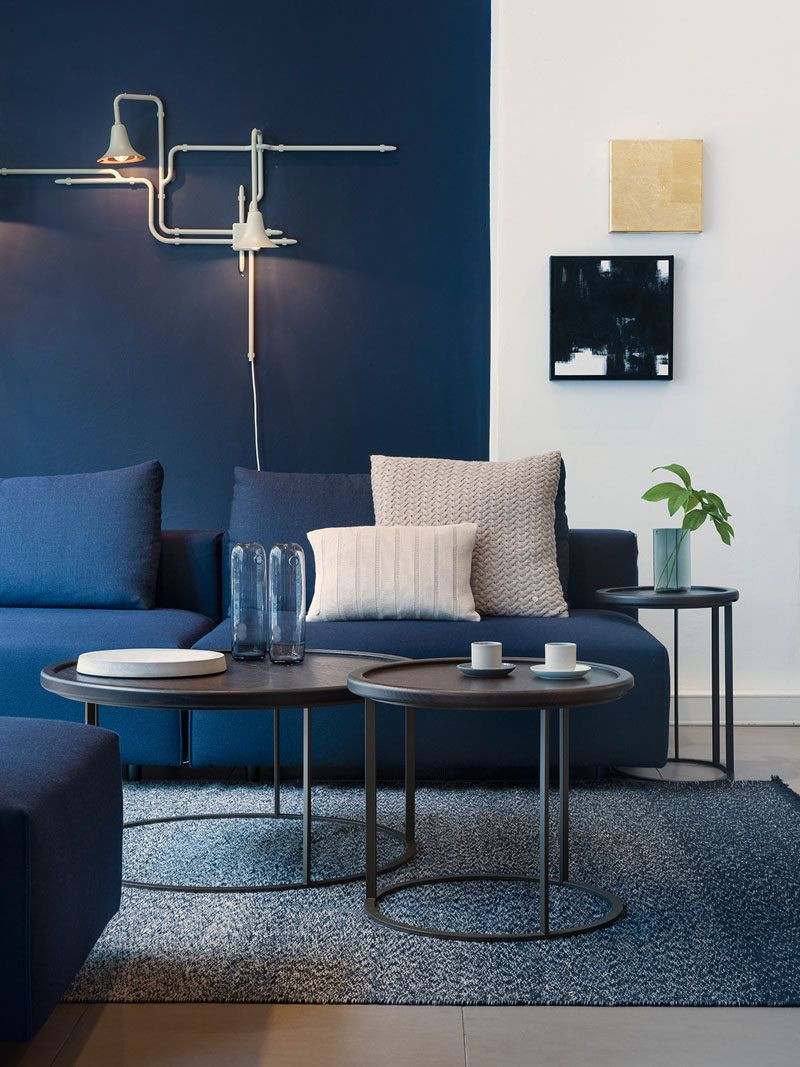 Blue Living Room Ideas 4 Ways to Use Navy Home Decor to Create A Modern Blue