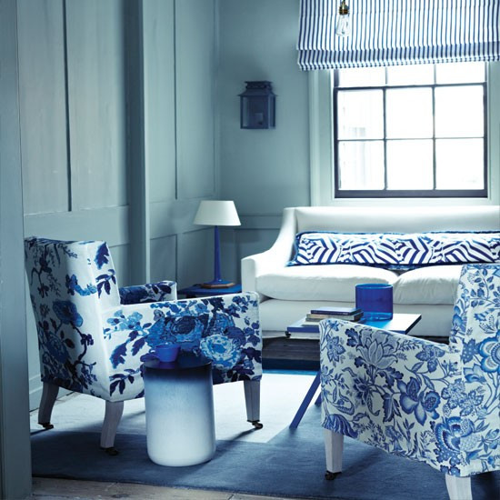 Blue Living Room Ideas Blue Living Room Decor 2017 Grasscloth Wallpaper
