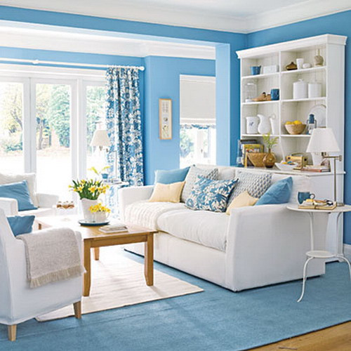 Blue Living Room Ideas Bringing Blue In the Living Room
