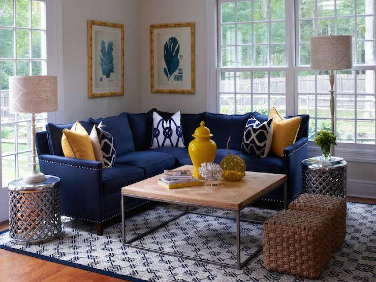 Blue Living Room Ideas Navy Blue Living Room Decorating Ideas