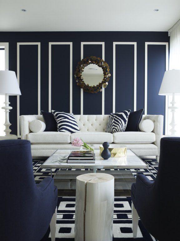 Blue Living Room Ideas Unique Blue and White Living Room Design Ideas