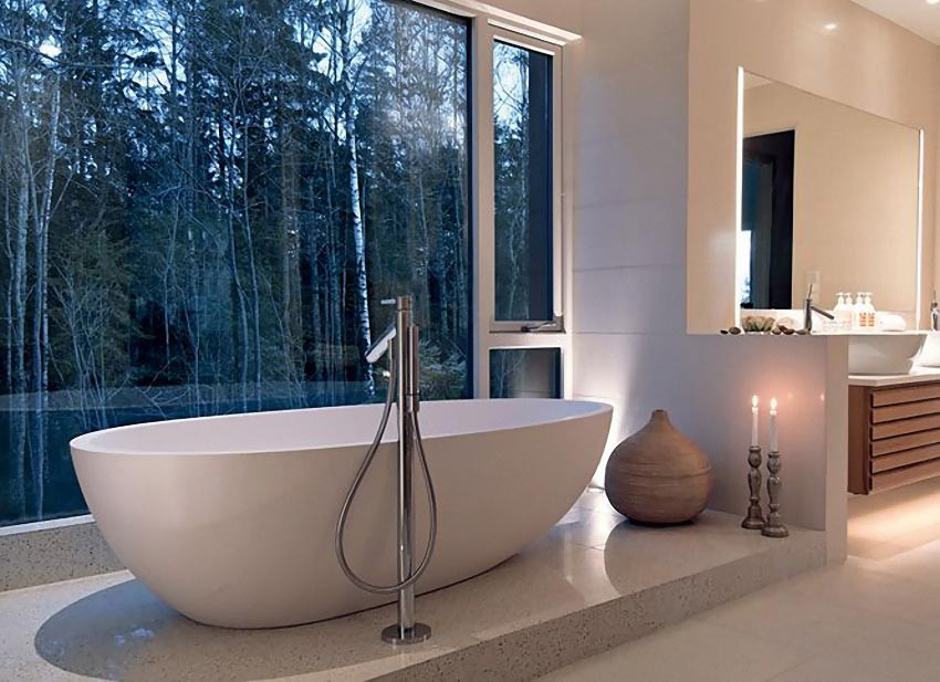 Breathtaking Bathrooms Design 15 Breathtaking Bathrooms with A View Decoholic