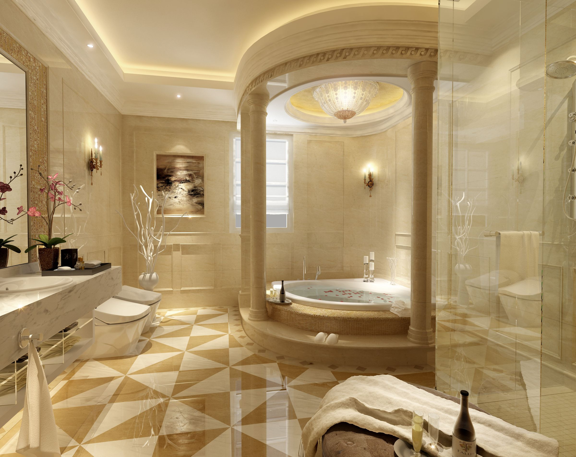 Breathtaking Bathrooms Design 55 Amazing Luxury Bathroom Designs