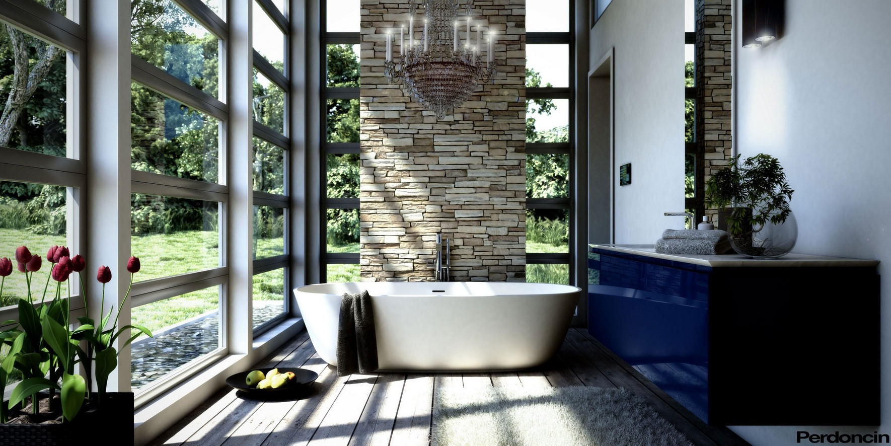 Breathtaking Bathrooms Design Bathtubs with A View Of Nature