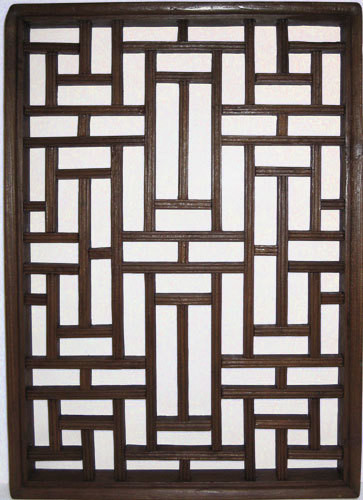 Carved Wood Window Ideas asian Wooden Window Panel In Antique Elmwood 22 H