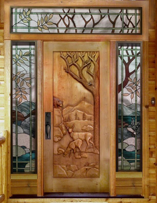 Carved Wood Window Ideas Doors and Windows Hand Carved Wood Door