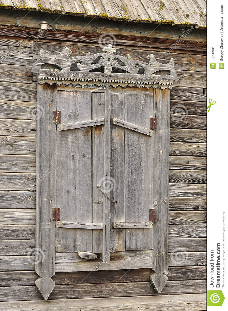 Carved Wood Window Ideas Old Shutters Stock Image Image Of Abstract Ideas Shape