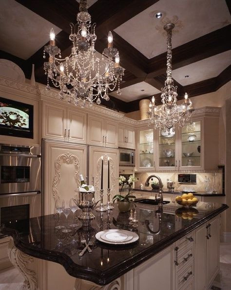 Classy Tiny Kitchen Fancy Mansion Kitchen Home Idea S Pinterest