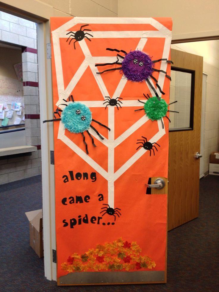 Door ornament Ideas 1000 Images About Halloween Teacher Doors for Trick or