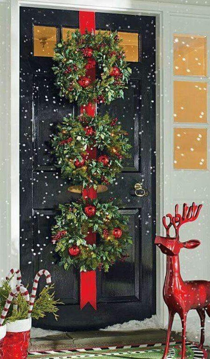 Door ornament Ideas 484 Best Christmas Doors Wreaths & Balls Images On