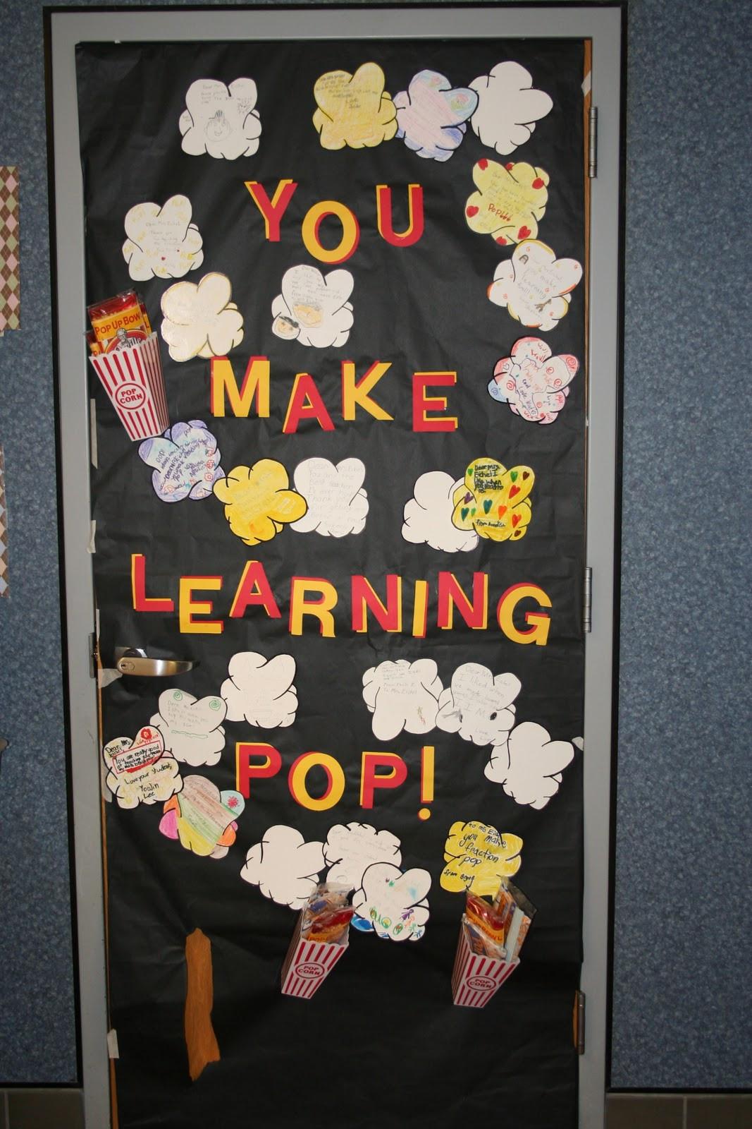 Door ornament Ideas Be Different Act normal Teacher Appreciation Week Door