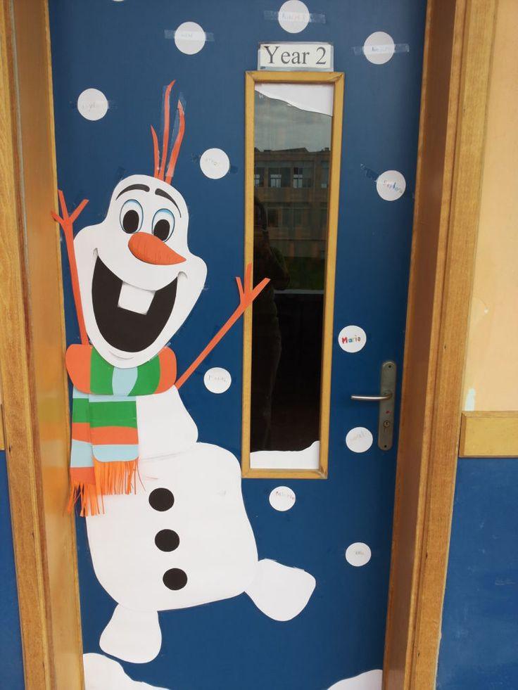 Door ornament Ideas Best 25 Christmas Classroom Door Ideas On Pinterest