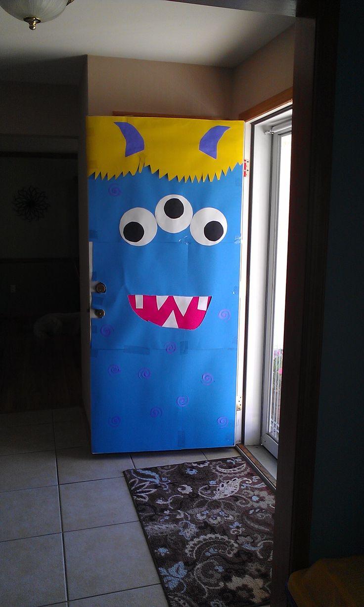 Door ornament Ideas Best 25 Monster Door Ideas On Pinterest