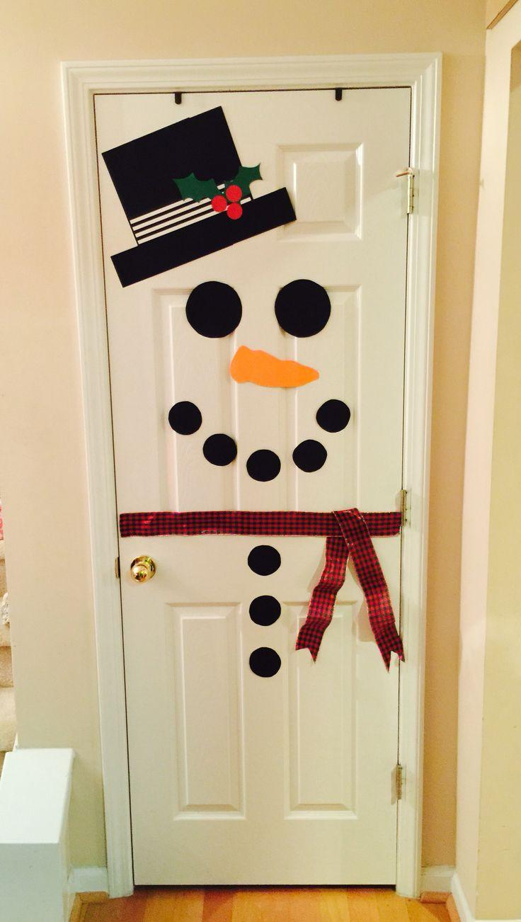 Door ornament Ideas Best 25 Snowman Door Ideas On Pinterest