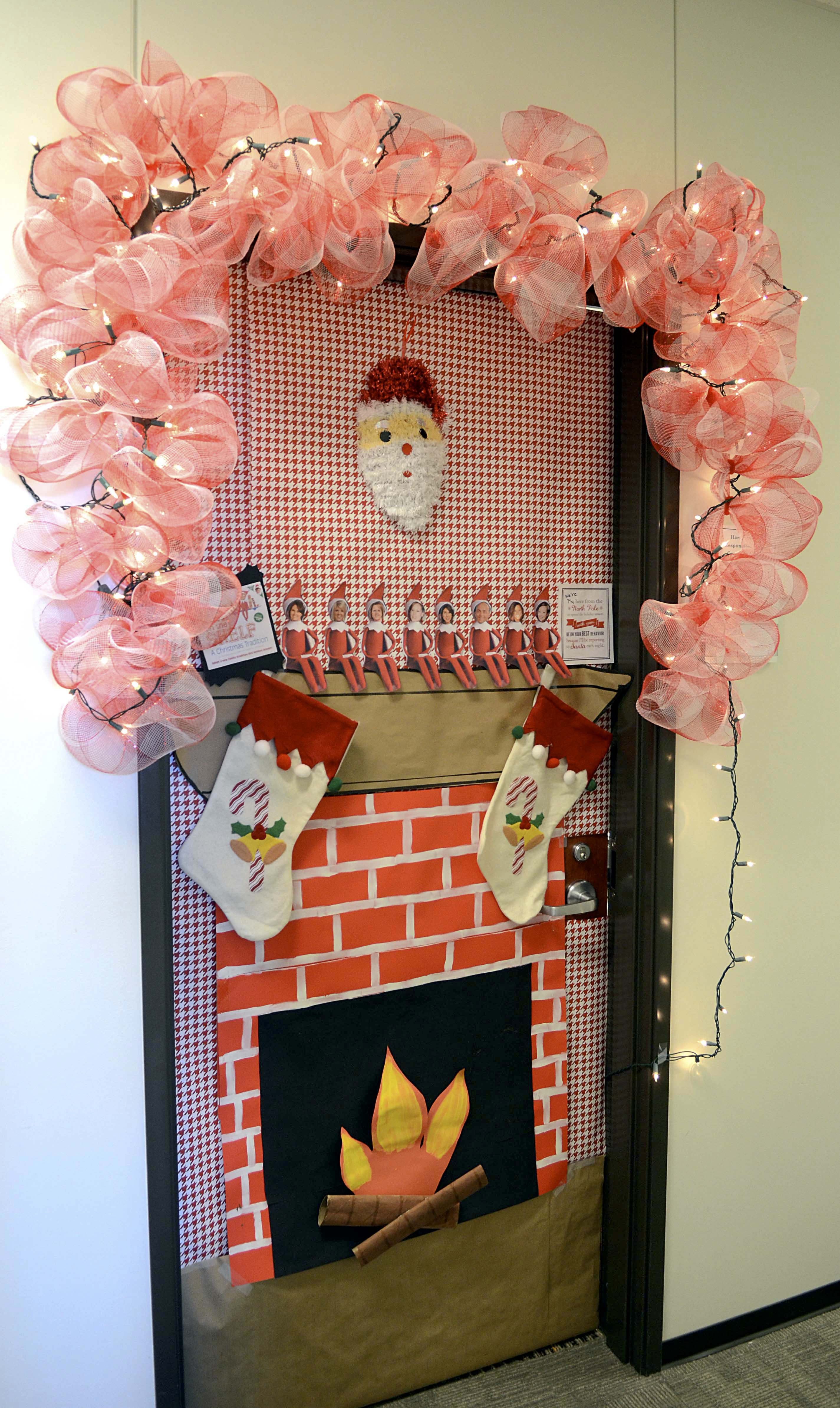 Door ornament Ideas Door Decoration Contest Sparks New Tti Tradition — Texas A
