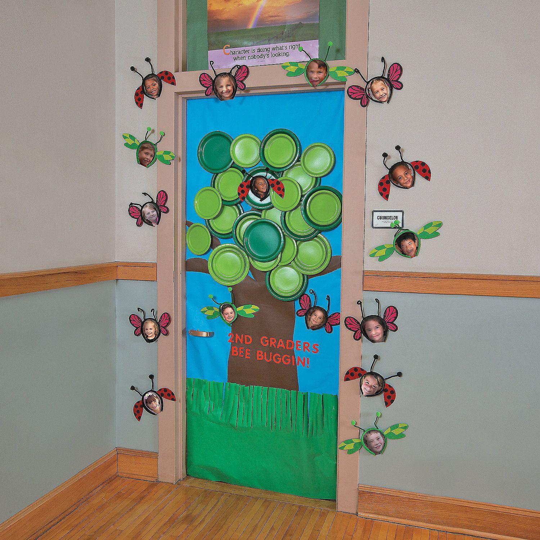 Door ornament Ideas Spring Tree Door Decoration Idea orientaltrading
