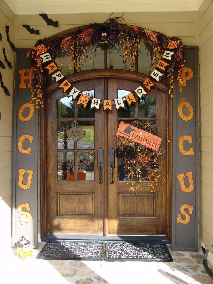 Door ornament Ideas top 25 Best Halloween Door Decorations Ideas On Pinterest
