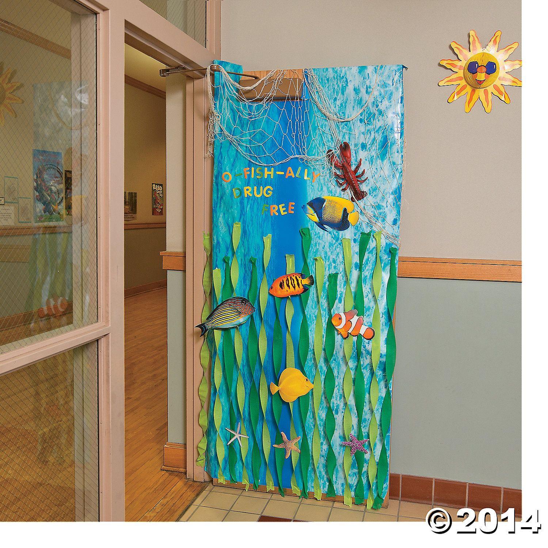 Door ornament Ideas Under the Sea Door Decoration Idea orientaltrading