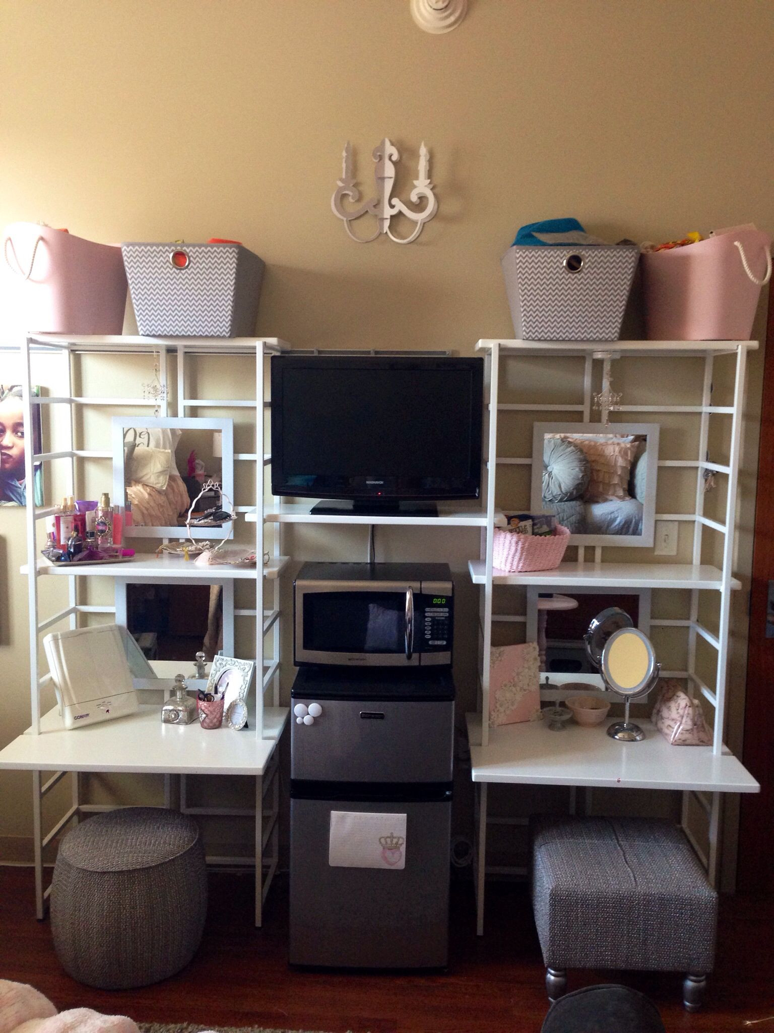 Dorm Room organization College Dorm Room organizer Containerstore Texas A&m