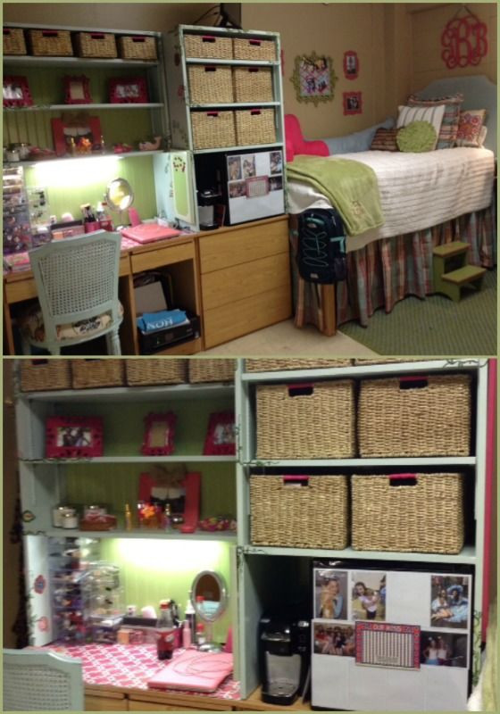 Dorm Room organization How to Build A College Desk Hutch Woodworking Projects