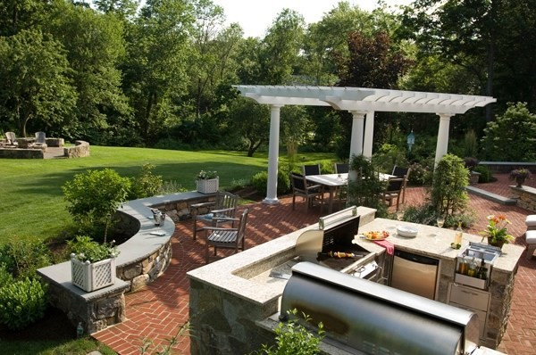 Elegant Backyard Design 100 Landscaping Ideas for Front Yards and Backyards