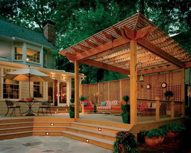 Elegant Backyard Design 15 Elegant Outdoor Deck Designs for Your Backyard