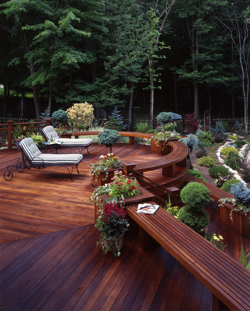 Elegant Backyard Design 24 Amazingly Elegant Wooden Deck Designs