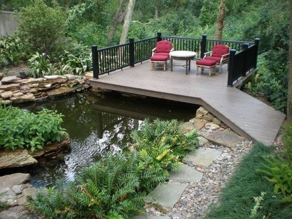 Elegant Backyard Design 30 Elegant Backyard Pond Ideas