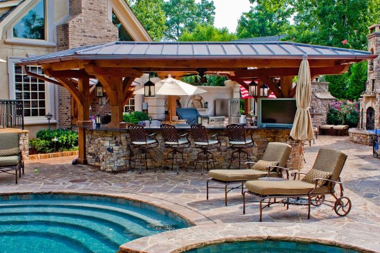 Elegant Backyard Design 50 Backyard Swimming Pool Ideas