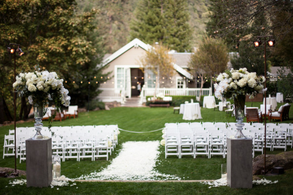Elegant Backyard Design Classic Wine Country Wedding From Megan Clouse