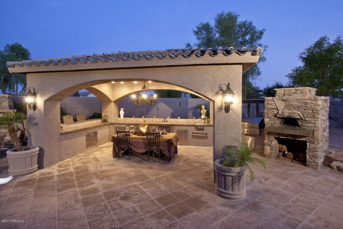 Elegant Backyard Design Elegant Outdoor Entertainment area